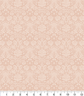 Keepsake Calico Cotton Fabric 43\u0022-Peach Tonal Floral