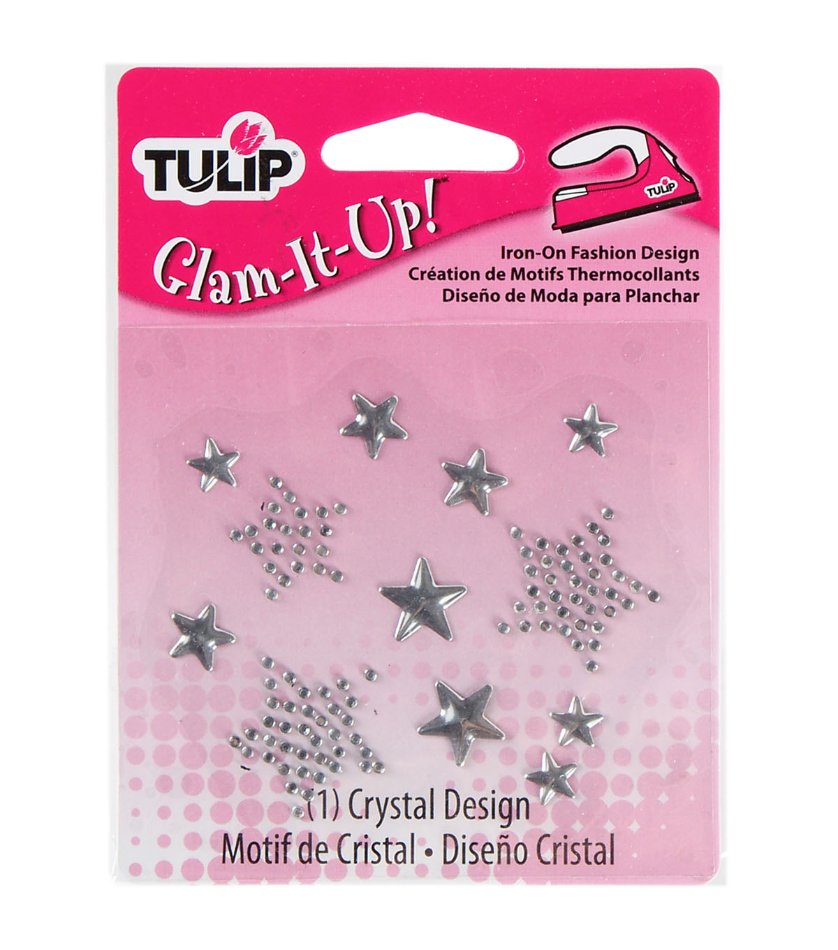 Tulip Glam-It-Up! Iron-On Fashion Designs Small Stars