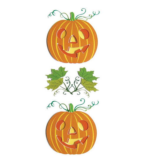 Jolee\u0027s By You Dimensional Embellishment-Jack O Lanterns