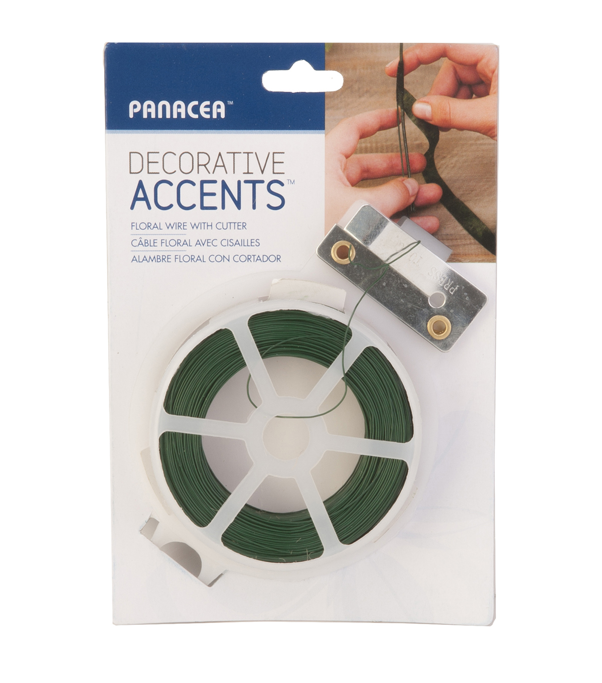Panacea Products-Green Wire with Cutter