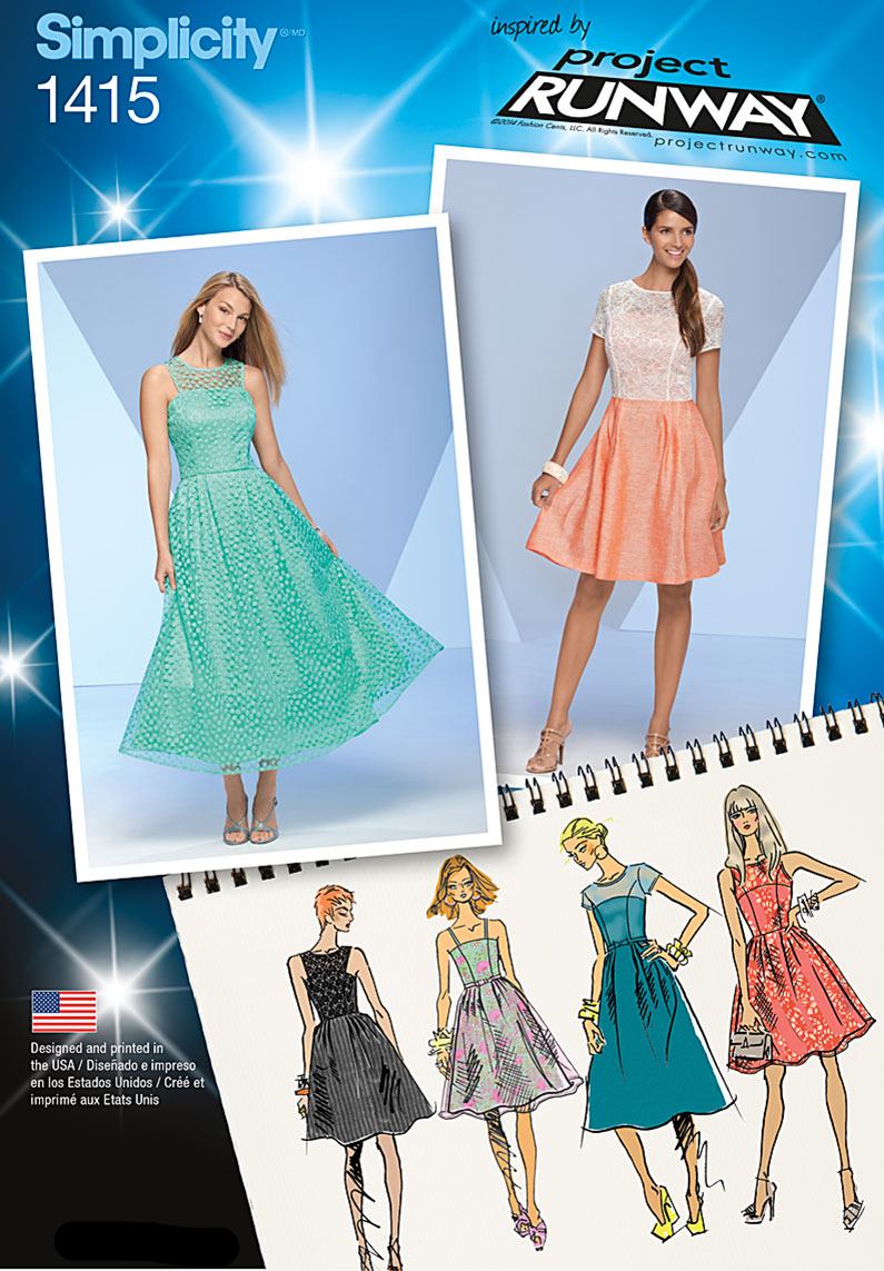 Simplicity Pattern 1415R5 14-16-18-2-Misses Special Occas