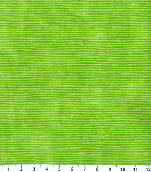 Keepsake Calico Cotton Fabric 44\u0022-Green Stripe