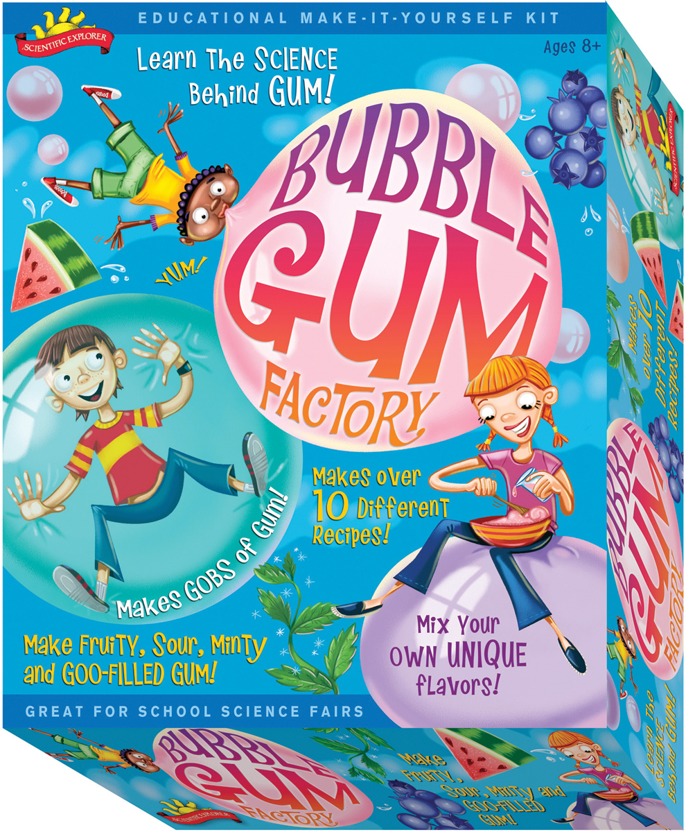 Scientific Explorers Bubble Gum Factory Kit-