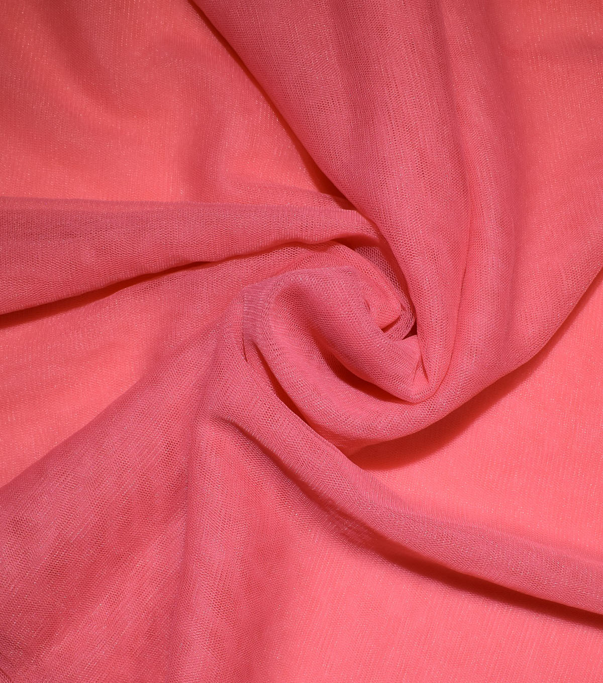 Casa Collection Solid Tulle Fabric 57\u0027\u0027, Cayenne