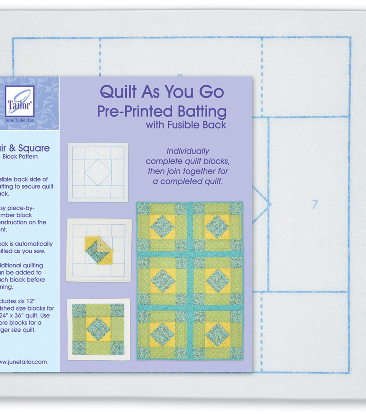 Quilt As You Go Fair And Square