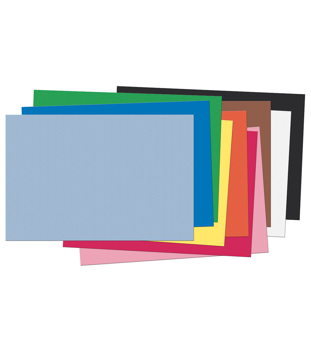Busy Kids Learning Riverside Construction Paper-Assorted