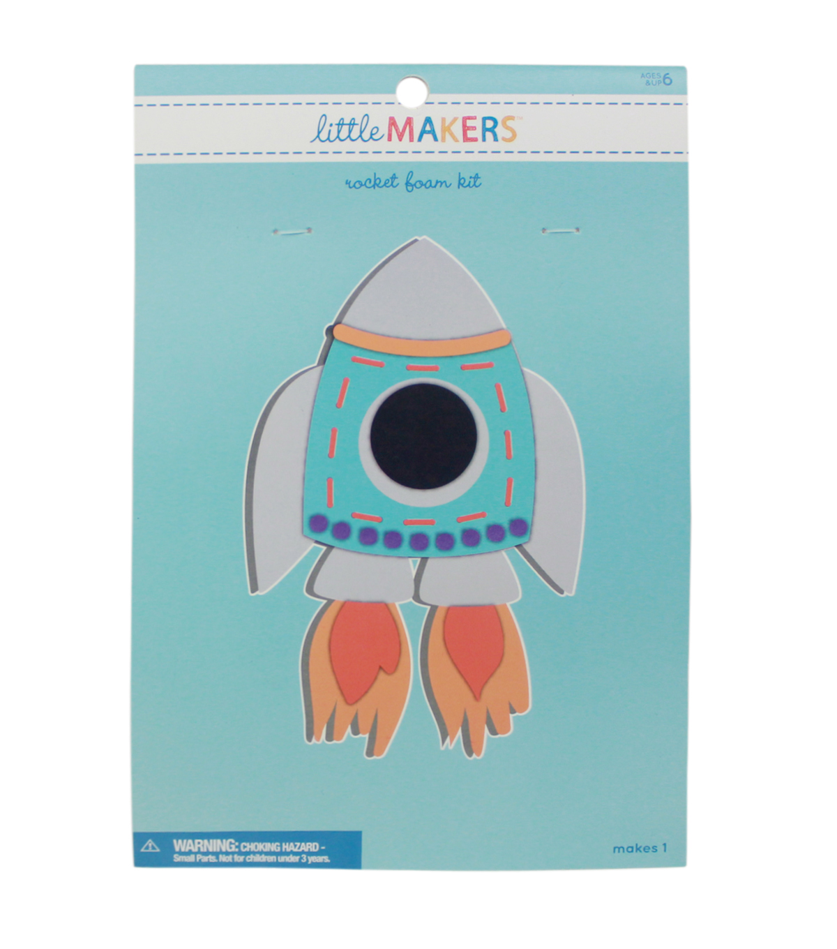 Little Makers Foam Kit-Rocket