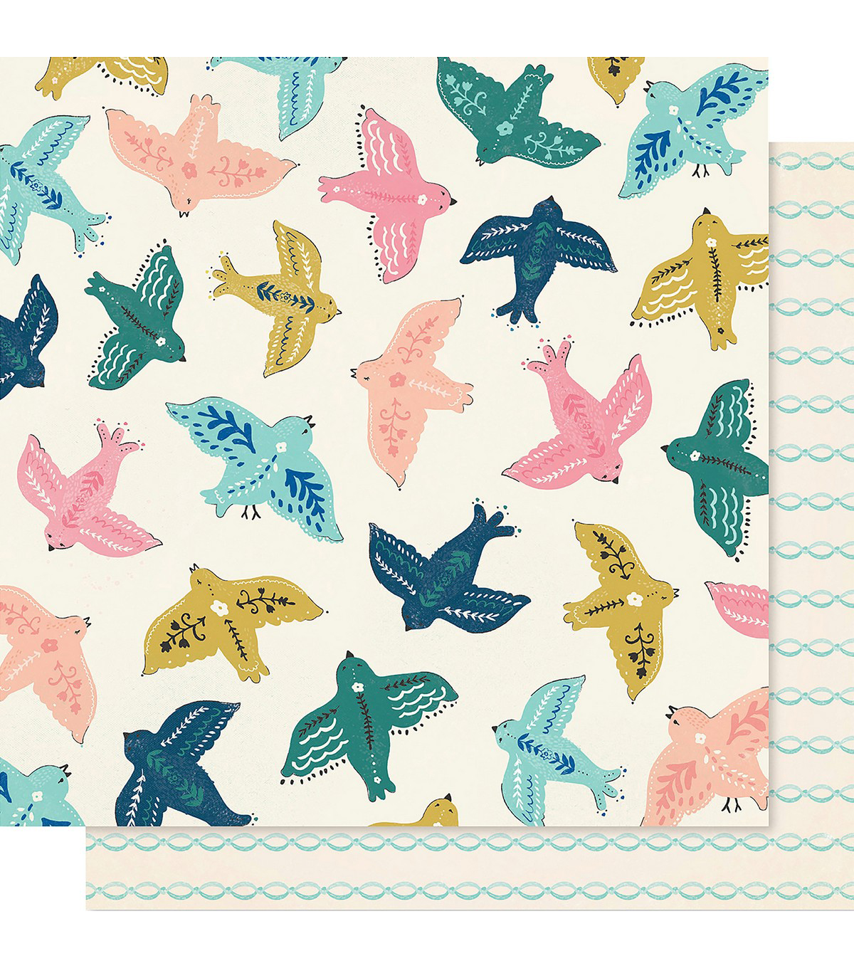 Maggie Holmes Willow Lane Double-Sided Cardstock 12\u0022X12\u0022-Sparrow