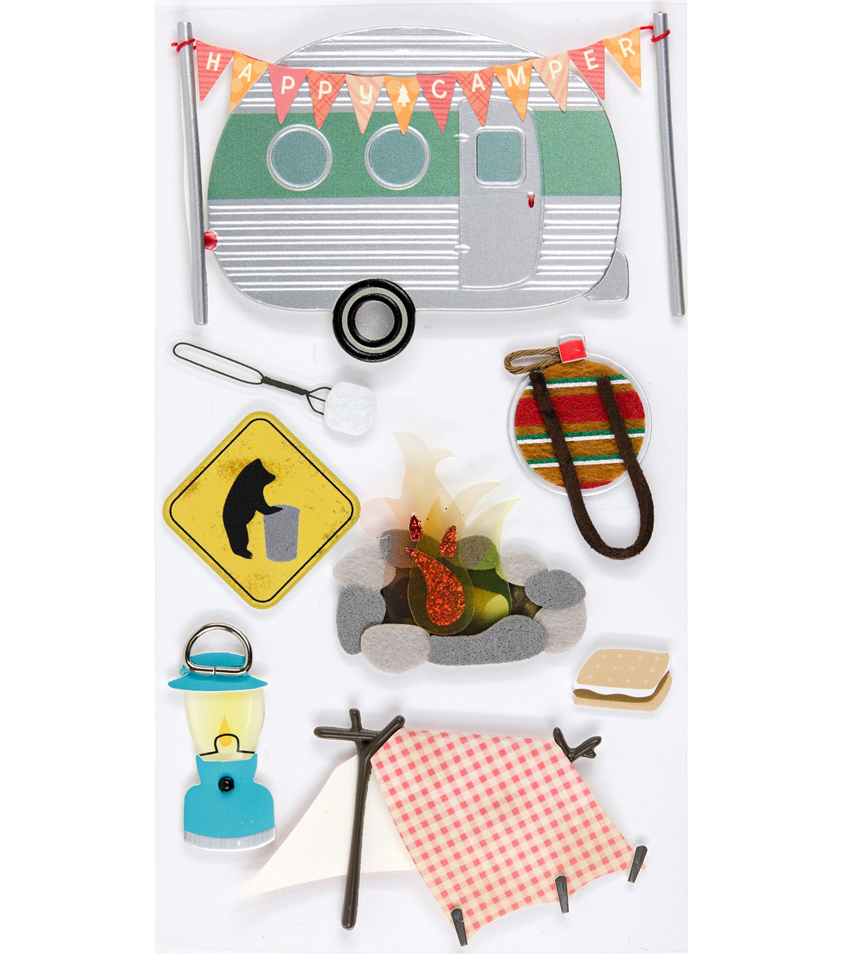 Jolee???s Boutique Stickers-Camping