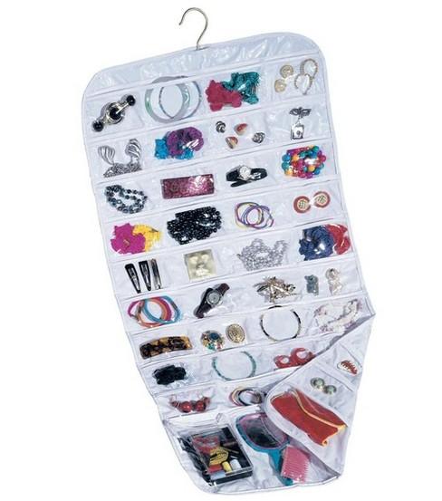 Household Essentials 80 Pocket White Ultra Jewelry Organizer JOANN