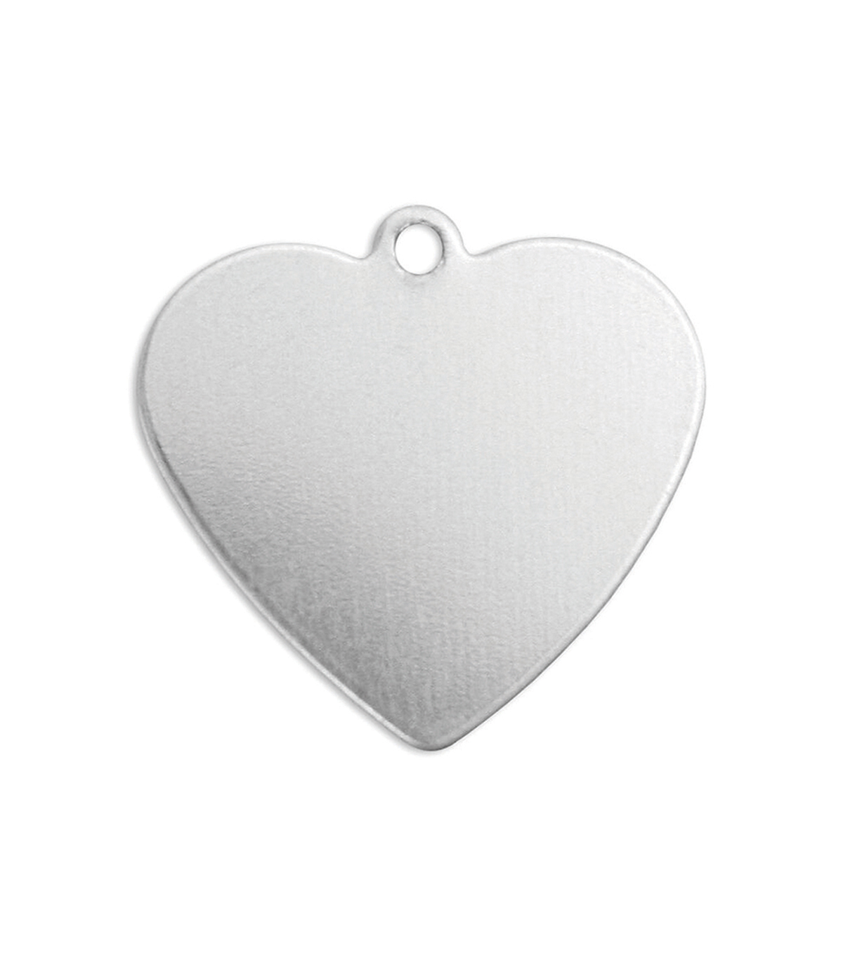 ImpressArt 0.56 oz. Aluminum Heart with Ring Premium Stamping Blanks