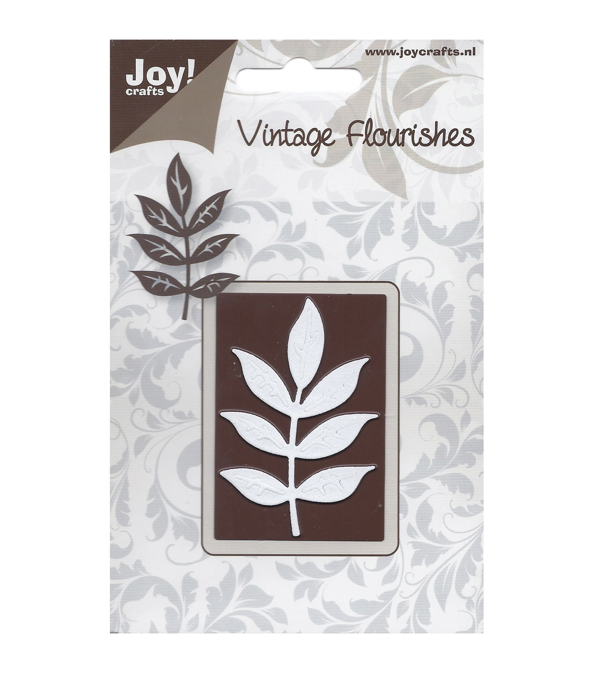 Joy! Crafts Cutting Die-Vintage Flourish/Decorative Leaf Branch