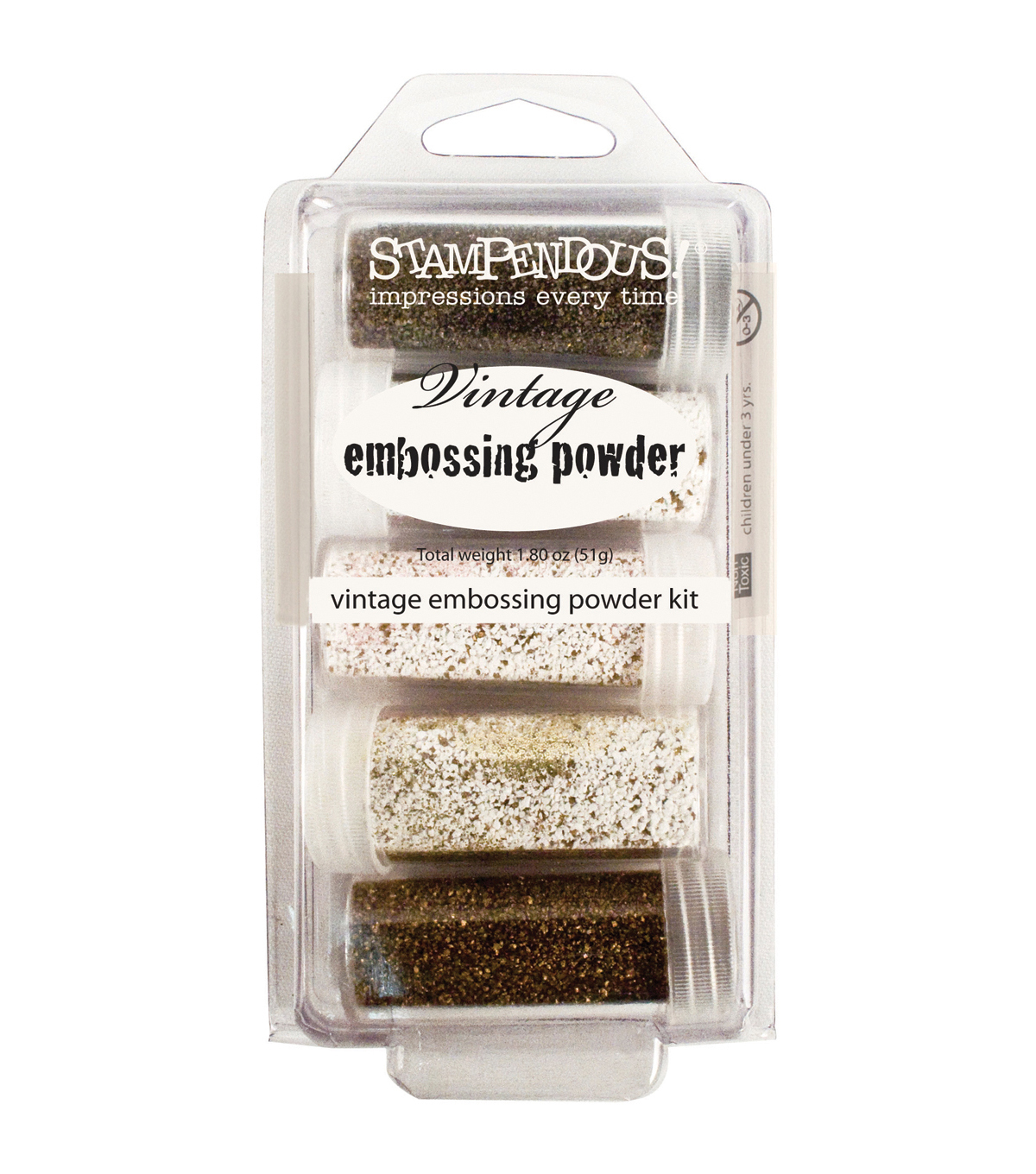 Stampendous Embossing Powder Kit 5/Pkg-Frantage