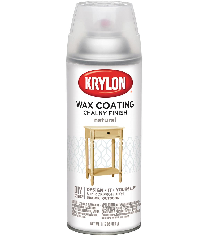 Chalky Finish Aerosol Spray Paint 12oz Wax Coating