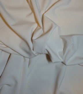 Casa Collection Stretch Satin Fabric -Charm Eggnog