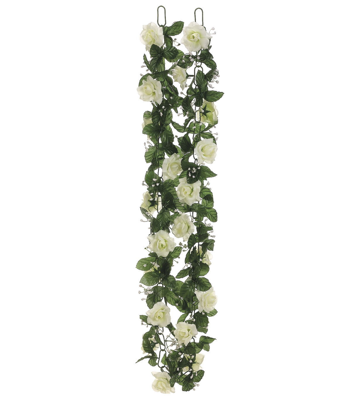 Bloom Room Rose Chain Garland-Cream