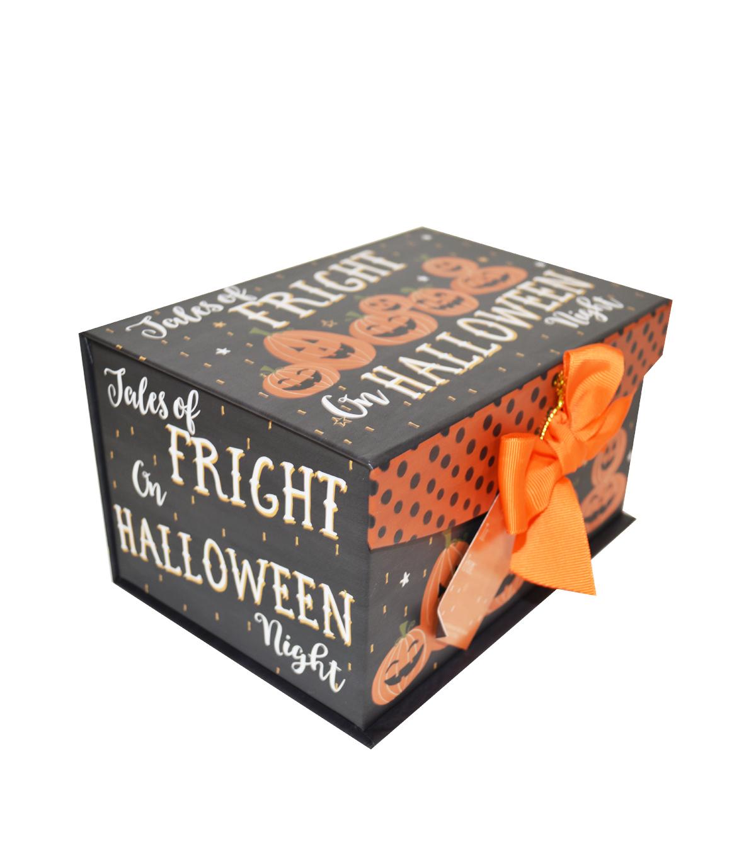 organizing essentials small fliptop storage box-haunted halloween