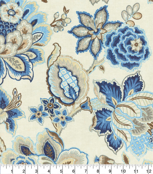 Waverly Upholstery Fabric 54\u0027\u0027-Luna Sri Lanka Rose