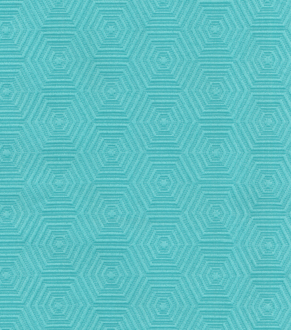 HGTV Home Lightweight Decor Fabric-Hex Appeal/Pool