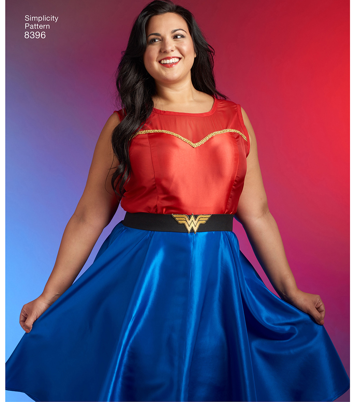 Simplicity Pattern 8396 Plus Size Cosplay Dress-Size BB (20W-28W)