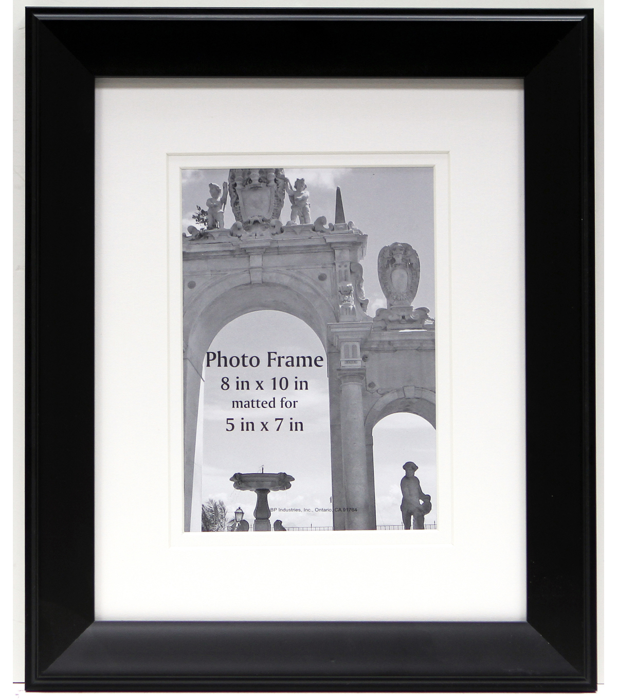 BP Industries Portrait Photo Frame 8\u0027\u0027x10\u0027\u0027-Black
