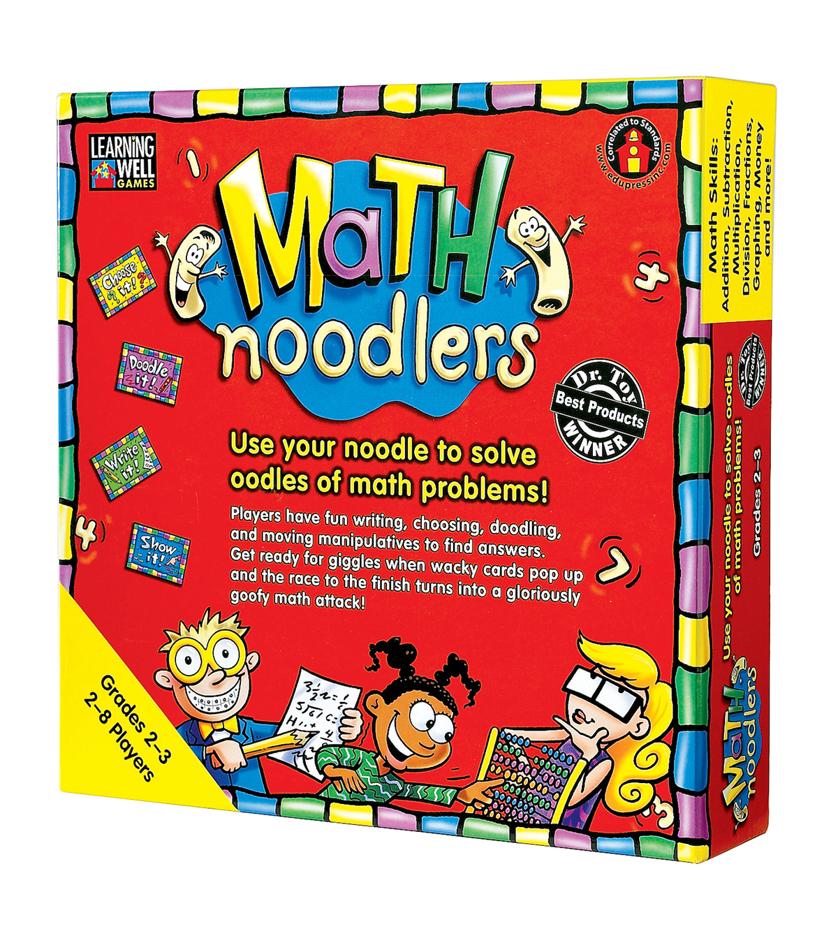 Math Noodlers Game, Grades 2-3