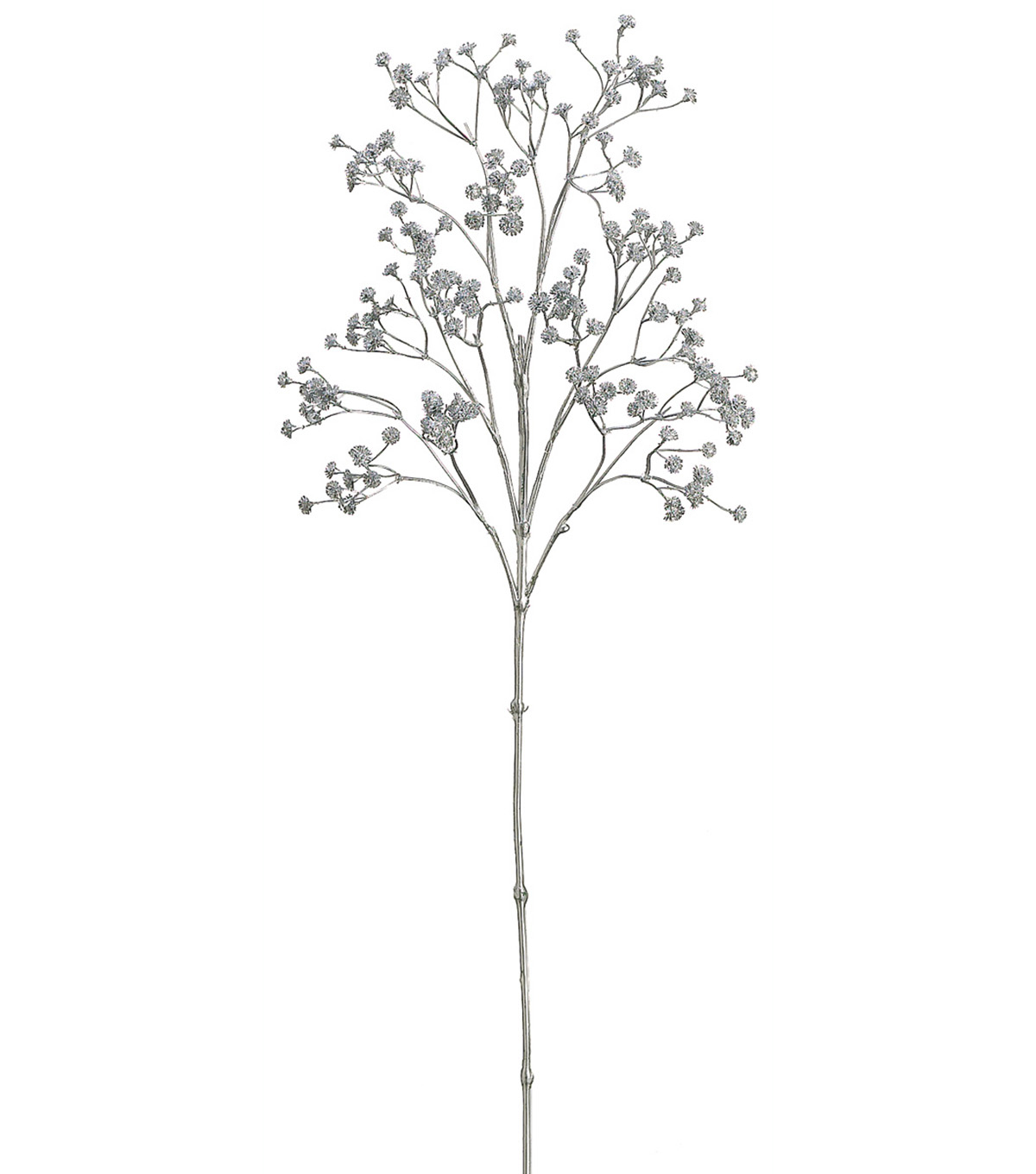Bloom Room 26\u0027\u0027 Metallic Gypsophila Spray-Silver