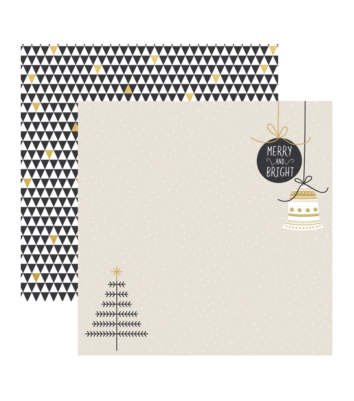 Kaisercraft First Noel 10 pk Double-sided Specialty Cardstock-Holy Night
