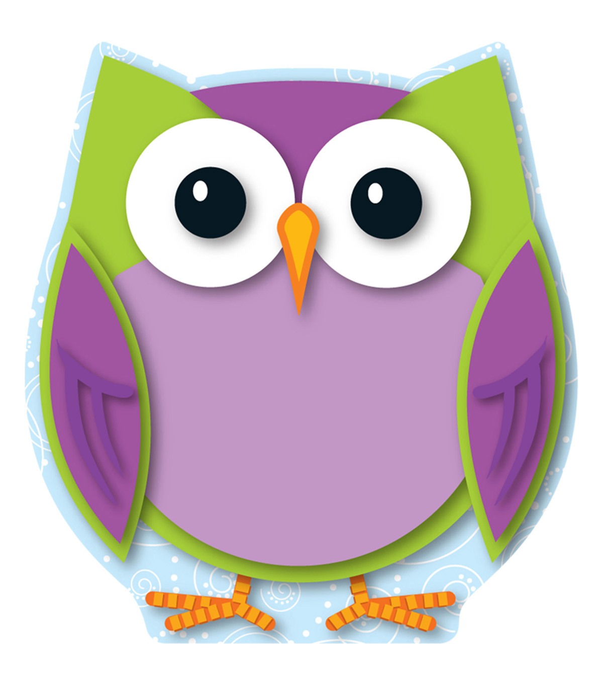 Colorful Owl Mini Cut Outs 36/pk, Set Of 6 Packs