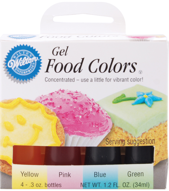Wilton Gel Food Coloring Set-Easter