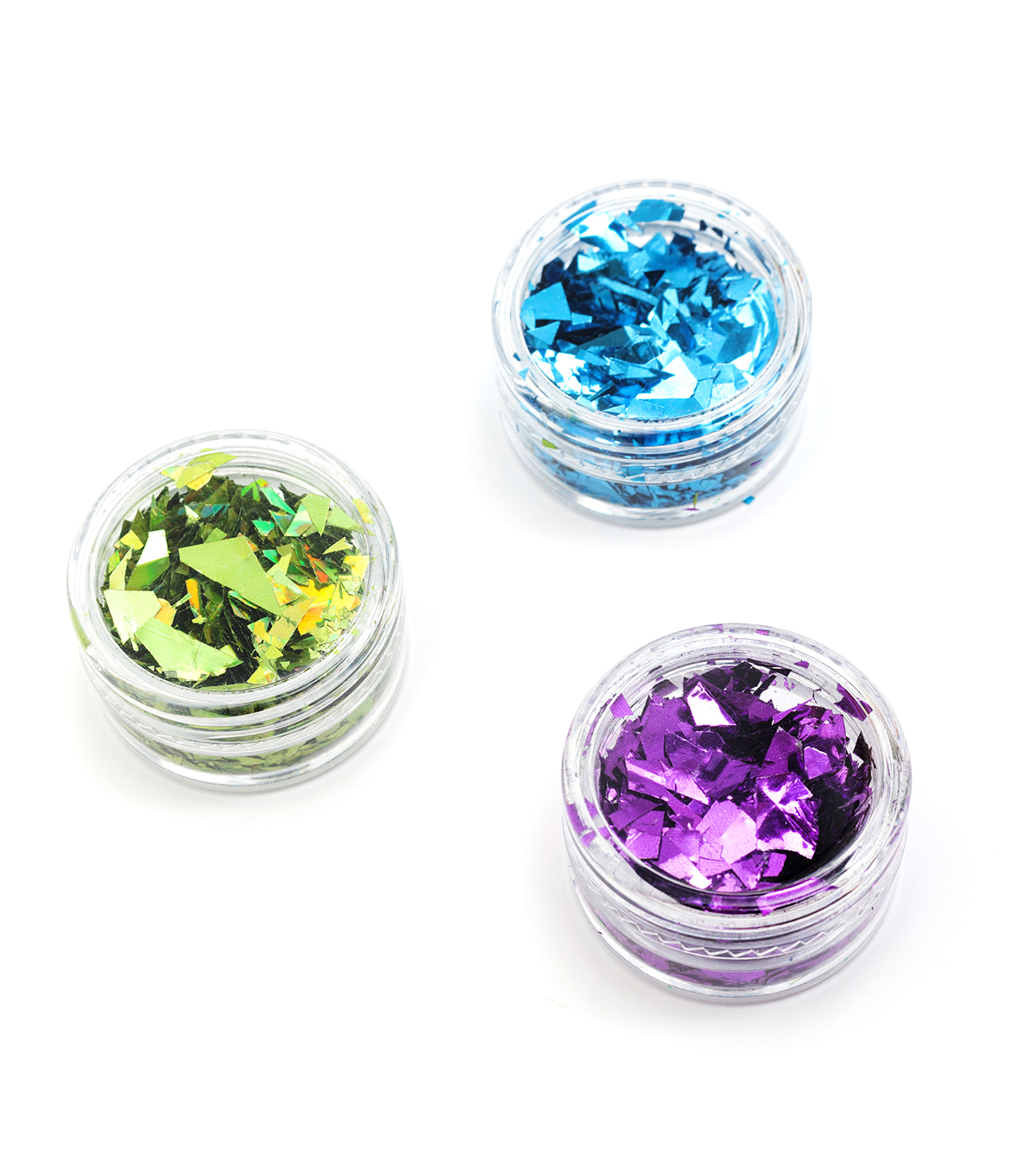 American Crafts Color Pour Embellish Foil Flakes-Warm Cool