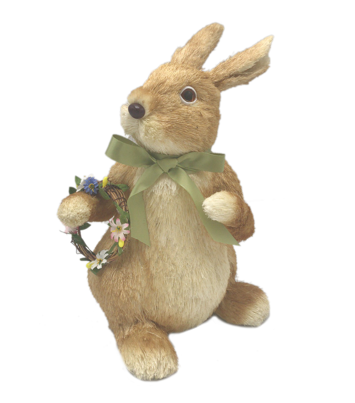 Fresh Picked Spring Bunny Critter with Wreath