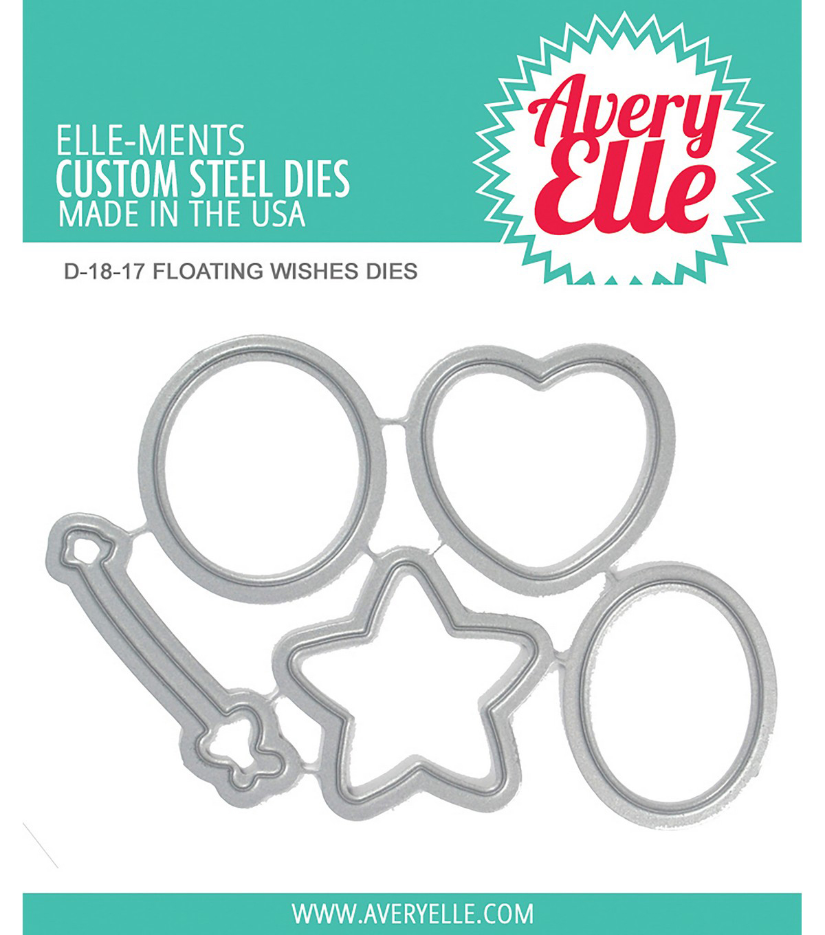 Avery Elle Elle-Ments 5 pk Dies-Floating Wishes