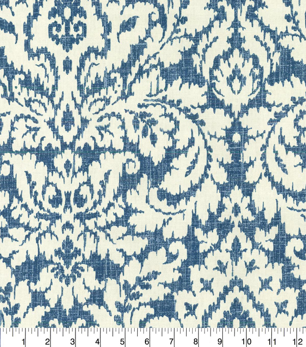 Home Decor 8\u0022x8\u0022 Fabric Swatch-Waverly Dashing Damask SD Midnight
