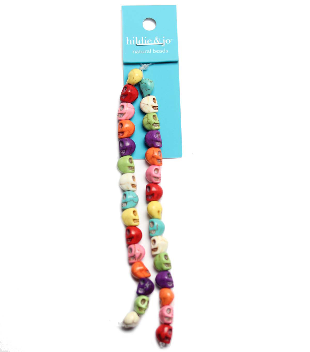 hildie & jo Strung Beads-Reconstituted Stone Multi
