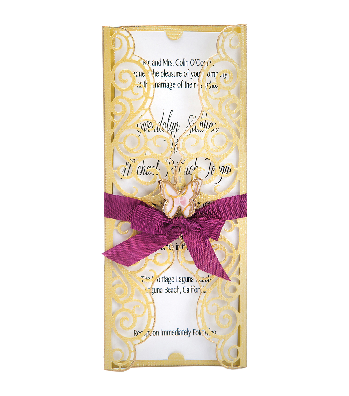 Sizzix Thinlits David Tutera 6 Pack Dies-Invitation Wrapper