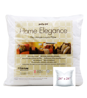 Home Elegance Pillow 24\u0022 x 24\u0022