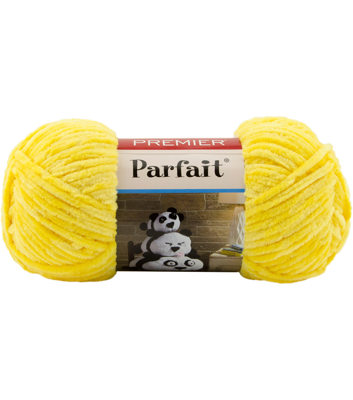 Premier Yarns Parfait Solid Yarn, Yellow