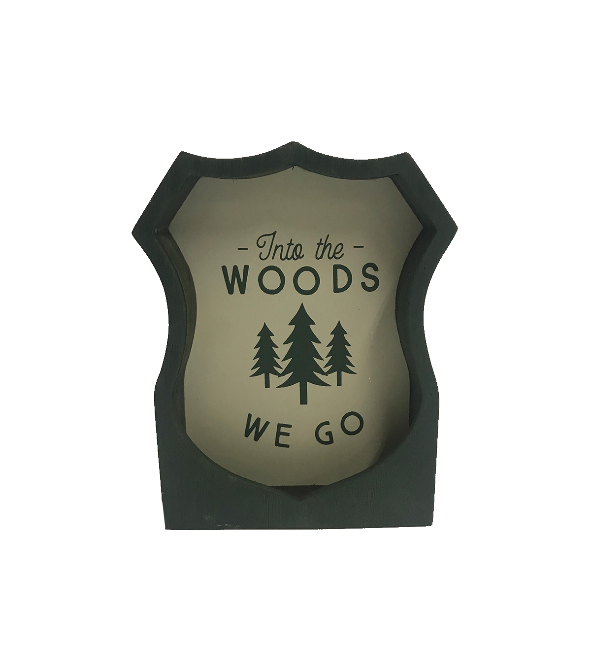 Camp Ann Tabletop Decor-Into the Woods We Go