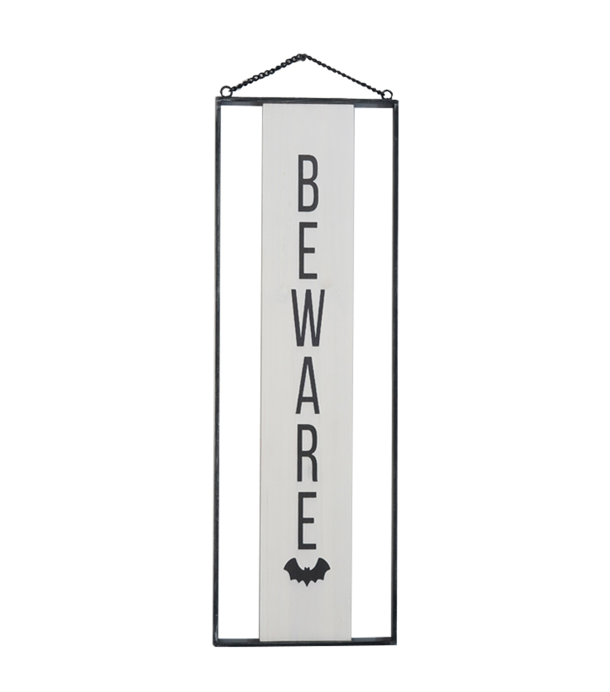 Maker\u0027s Halloween Wood Wall Decor-Beware