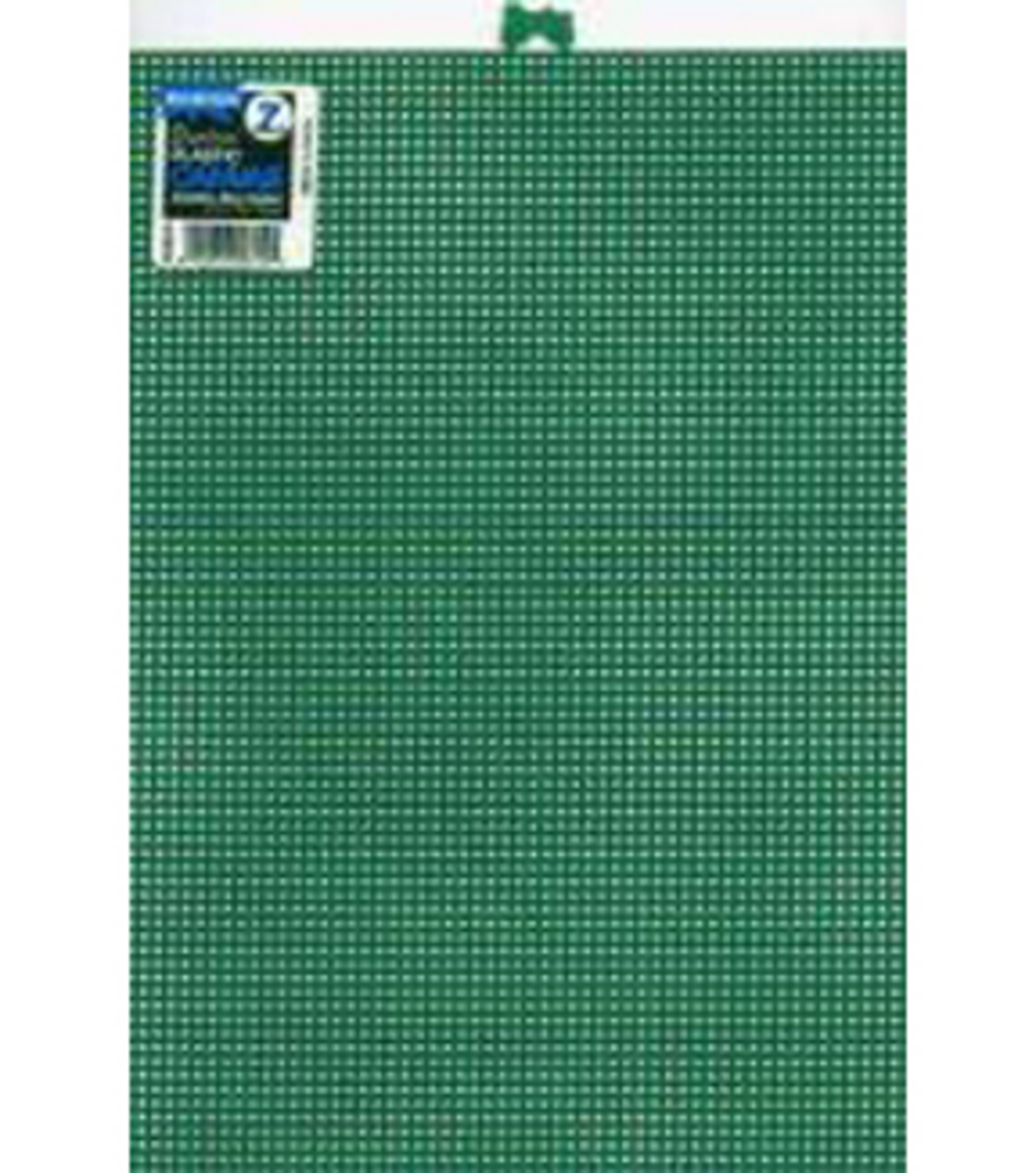 Plastic Canvas 7 Count 10\u0022X13\u0022-Green