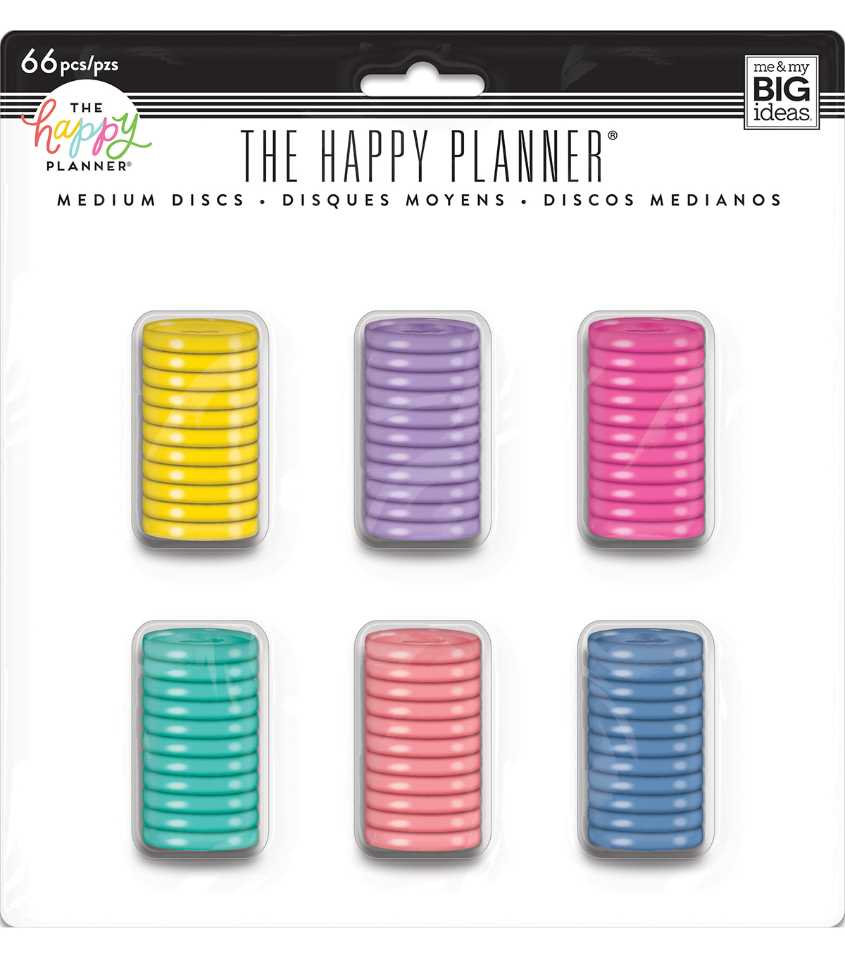 The Happy Planner Value Pack Medium Discs