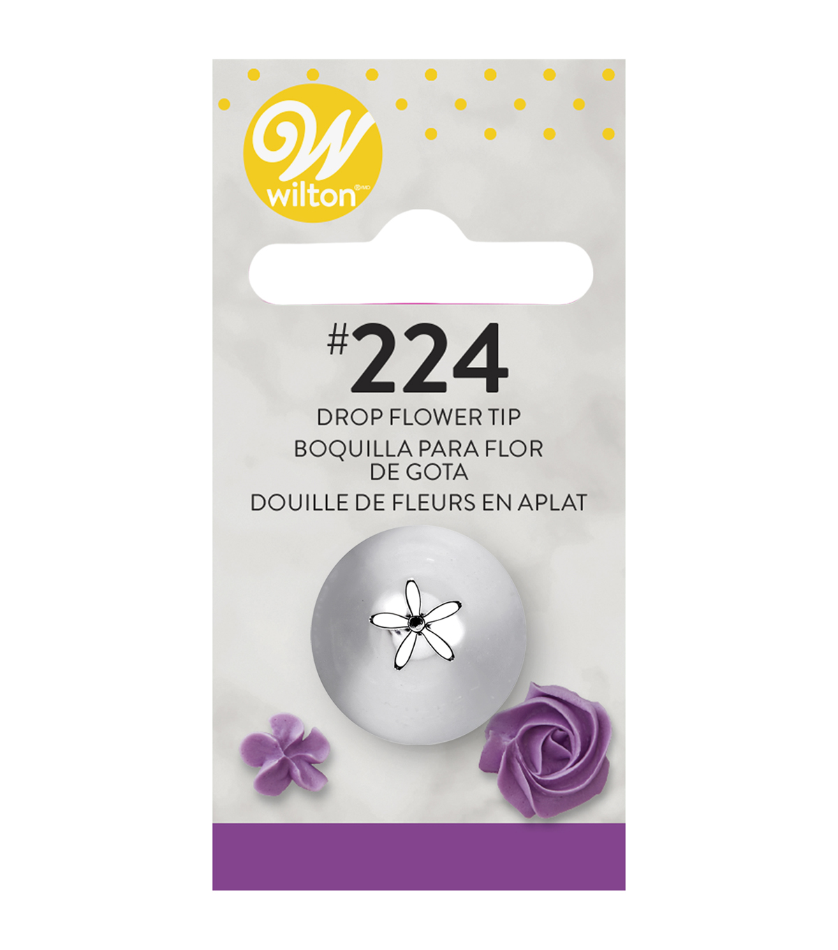 Wilton Decorating Tip-Drop Flower, #224