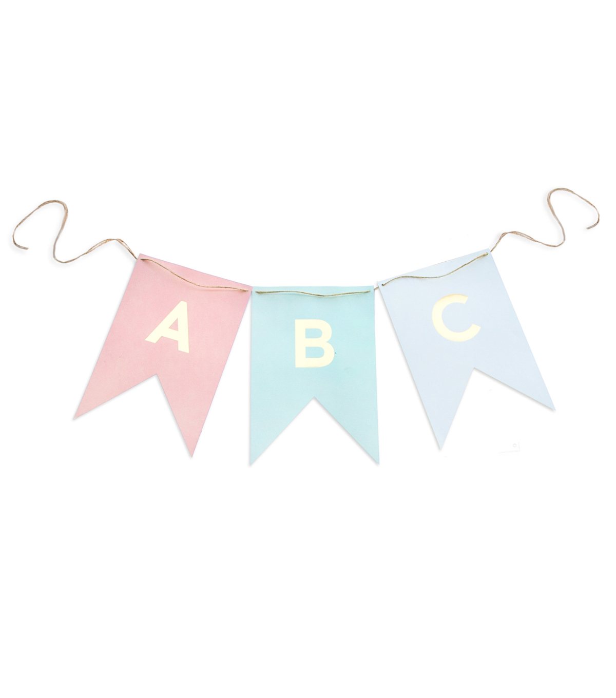 My Minds Eye Paper Goods Trend Letter Banner