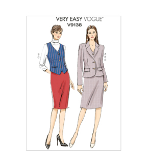Vogue Patterns Misses Casual-V9138