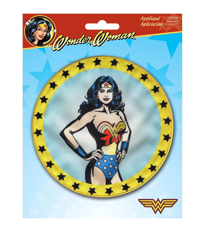 Dc Comics Wonder Woman 5 U0022x5 U0022 Iron On Applique Round Logo