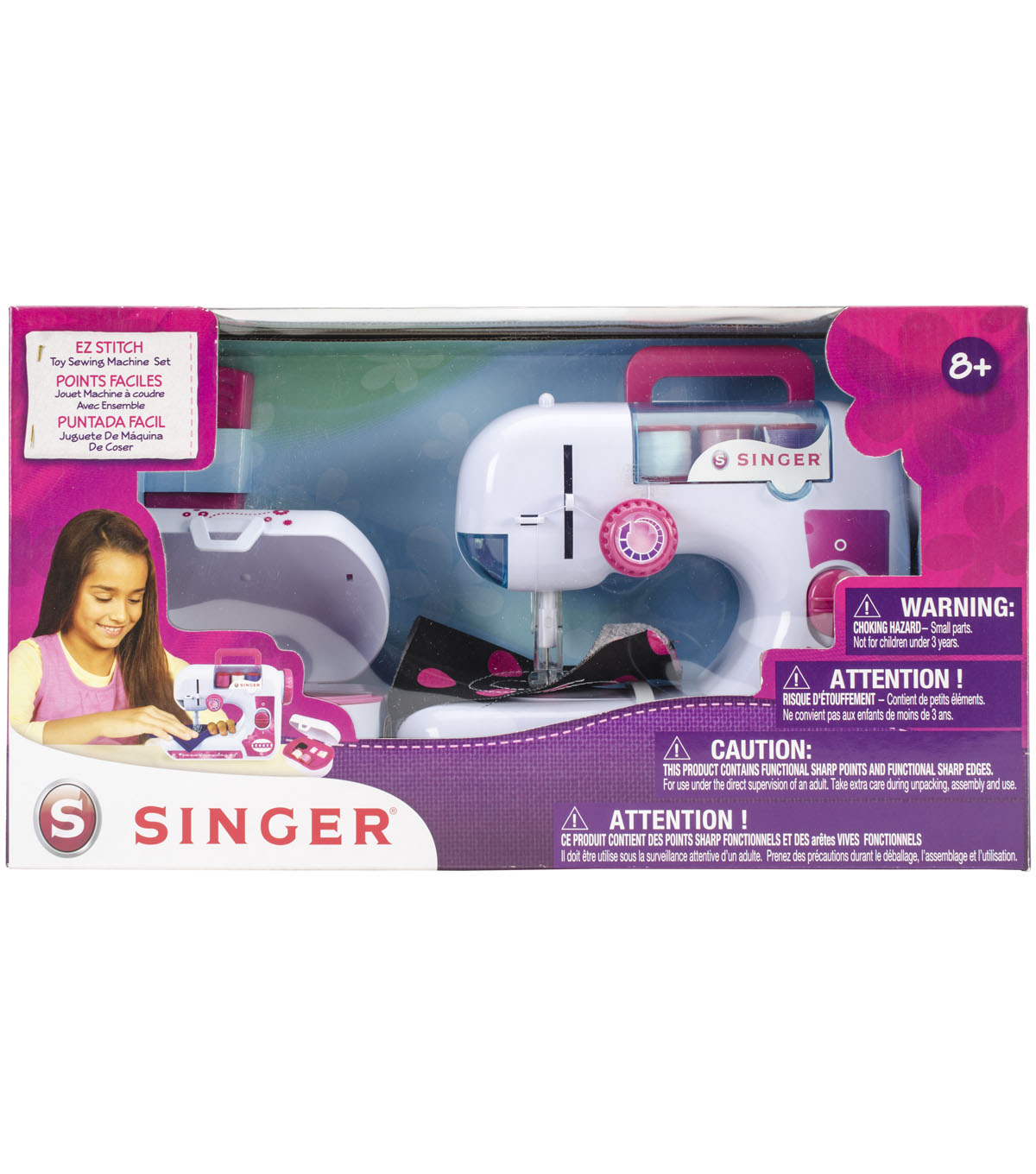 Singer EZ-Stitch Sewing Machine W/Sewing Kit