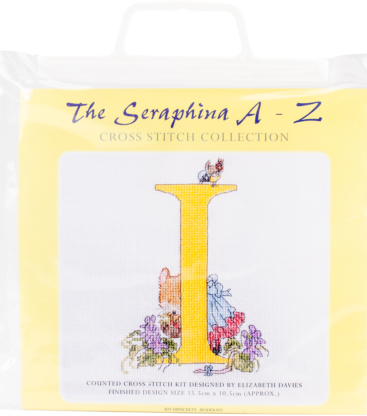 Creative World of Crafts Seraphina Counted Cross Stitch Kit-I