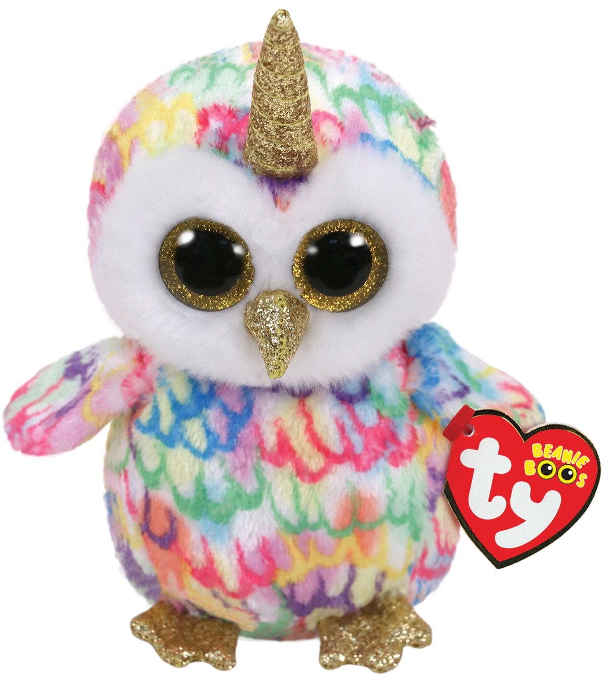 Ty Inc. Beanie Boos Regular Enchanted Owl with Horn
