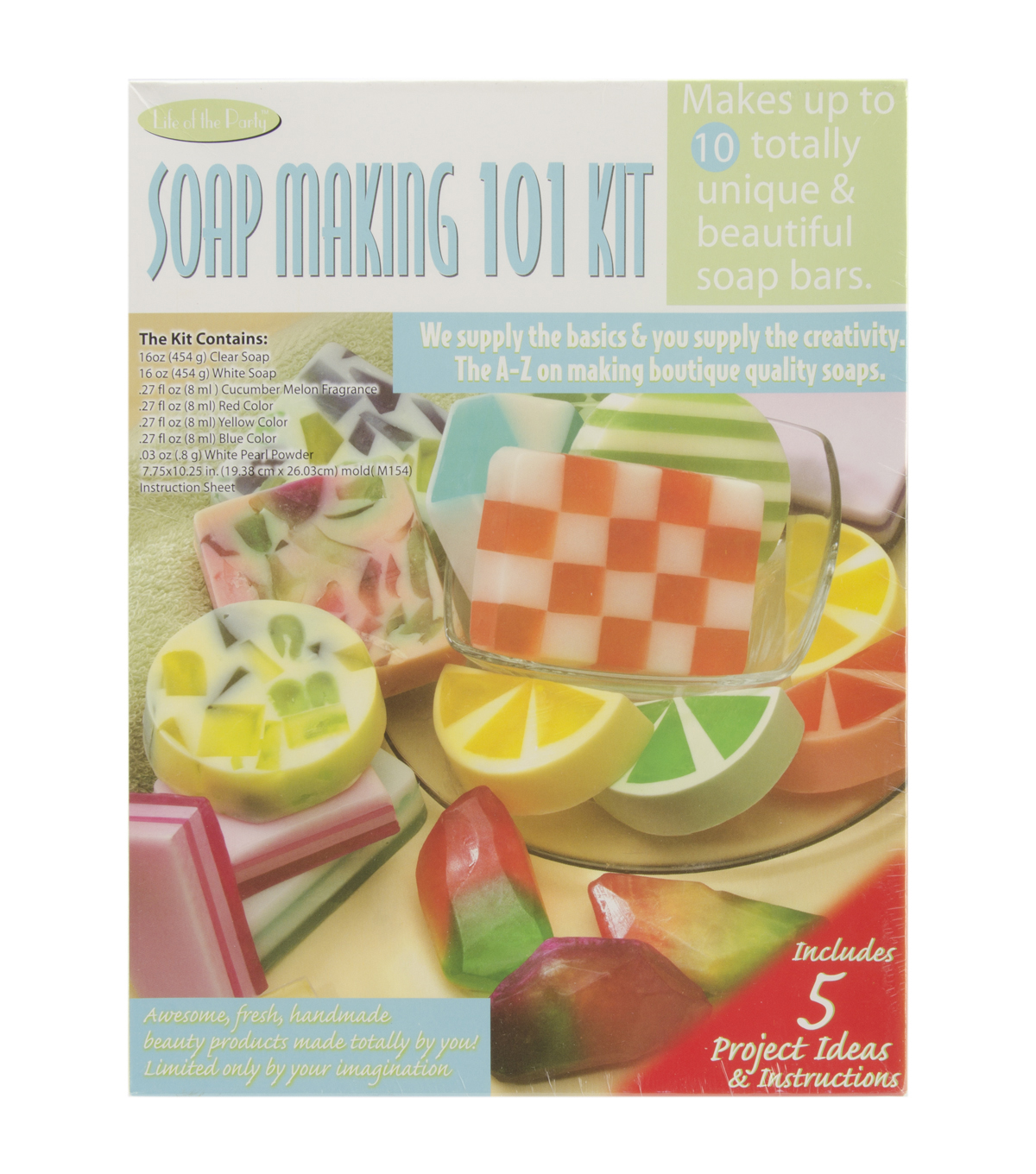 Soap making: a selection of sites